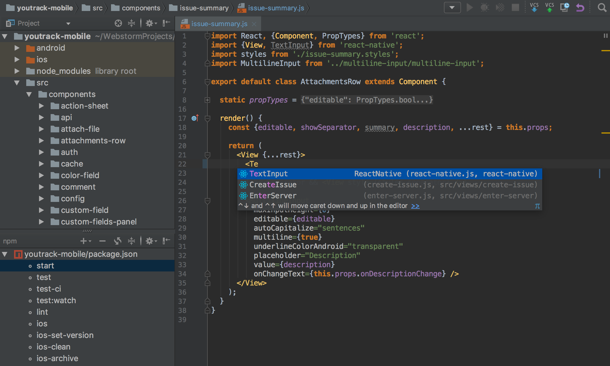 10 Best IDE For Programming- 2018 -webstorm