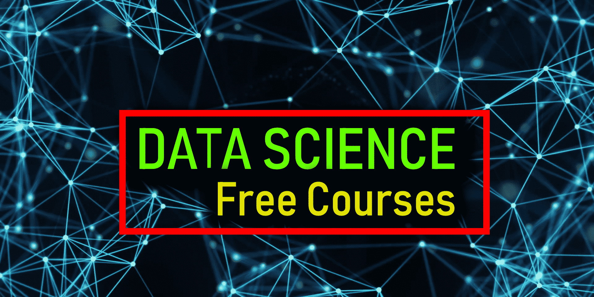 6 Best free online Data Science courses- 2018