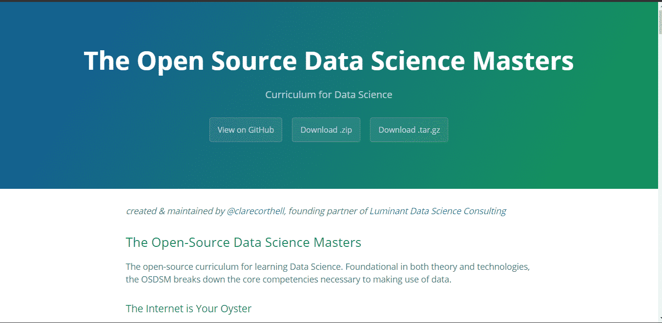 free online data science courses
