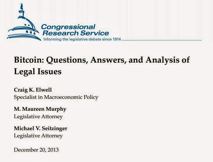 US Congressional Report indicts BITCOIN; Report Warns of Potential Bitcoin Threat to US Dollar