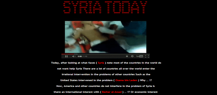 Syrian hacker defaces several Government website of