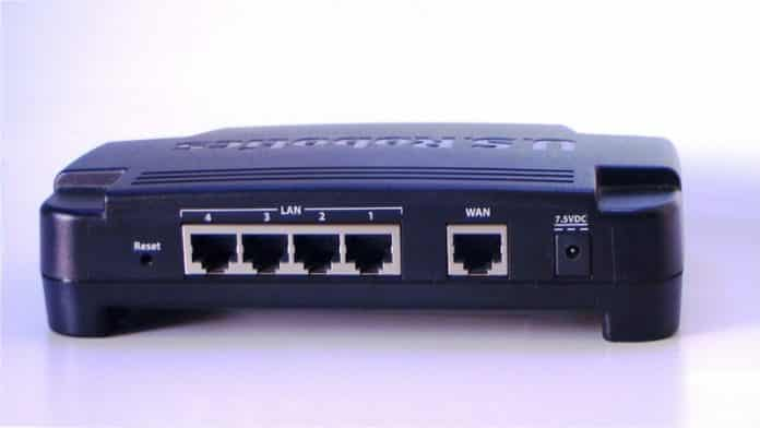 wps protected router