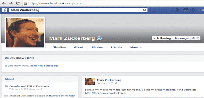 Was Mark Zuckerberg's Cover Photo Really removed by a hacker.