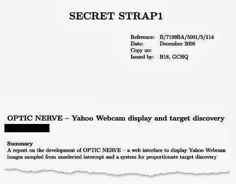 GCHQ targeted millions of YAHOO! users around the world and intercepted their webcam images