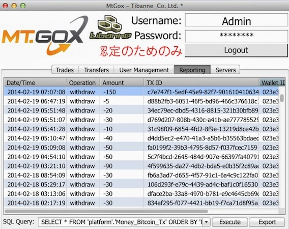 Mt. Gox CEO's blog hacked, database leak claims there should be a 951k Bitcoin balance