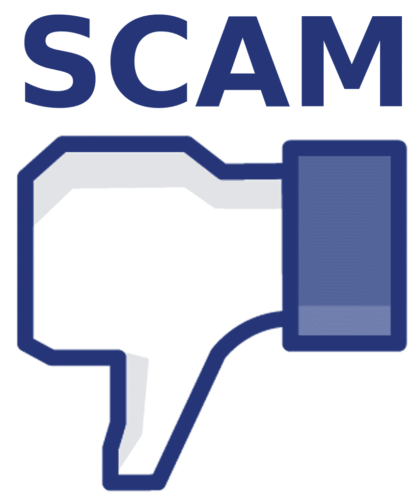 Scammers using your friends (raunchy) images on Facebook to