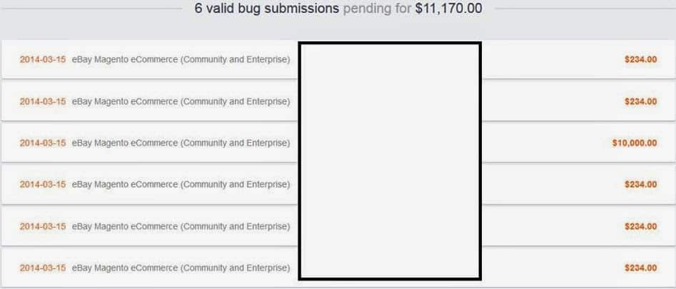 Indian discovers a bug in Ebay Magento eCommerce web application, gets awarded $11,171 as bug bounty