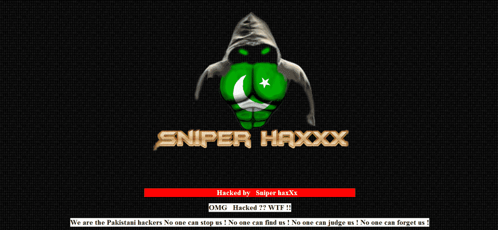BJP Junagadh unit's web site defaced by Pakistani hacker, hacker targets BJP and RSS