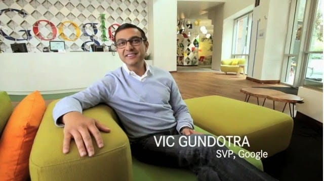 Google+  Social Chief Vic Gundotra  Quit The Company After 8years Job