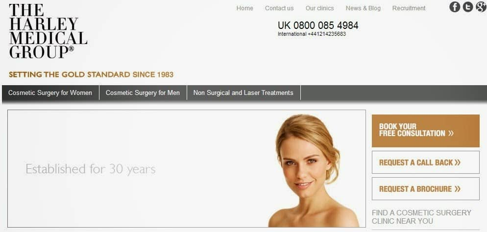 Hackers steal confidential details of 500,000 cosmetic surgery patients and enquirers from Harley Medical Group website