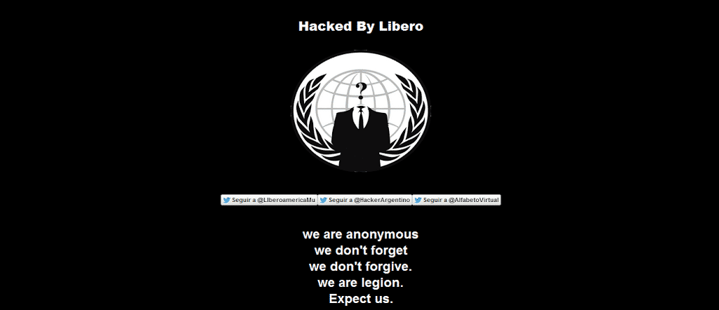 Several Government websites of Ukraine hacked and defaced by Argentina hack team under OpUkraine
