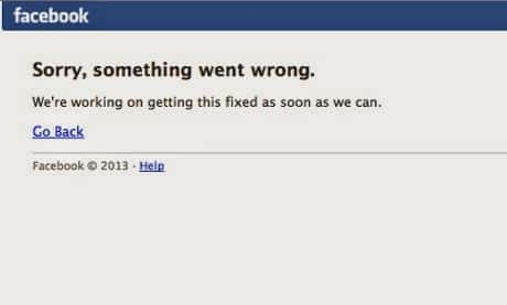 Facebook goes down, returns online after 30 minutes of Global outage.