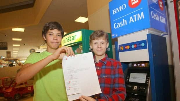 14 Year Old Kids hacks the ATM, Reports the Vulnerability to the Bank.