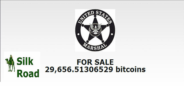 US to auction Bitcoins worth $18m which was seized from SilkRoad