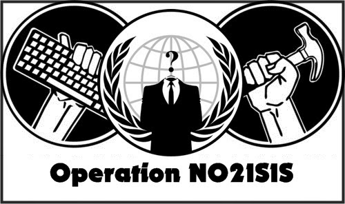 Anonymous Hacktivists to target the Countries supporting the ISIS group, OpNo2ISIS
