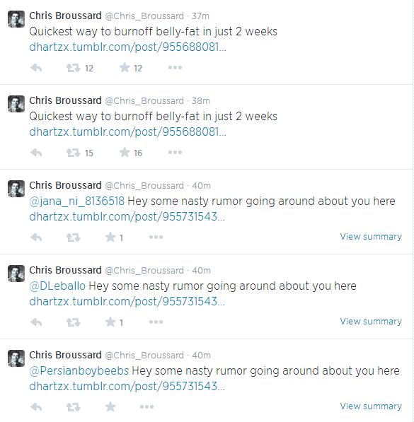 ESPN Sportswriter, Chris Broussard Twitter Account hacked
