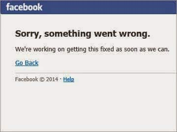 Facebook suffers downtime, Twitter flooded with Facebook down time tweets