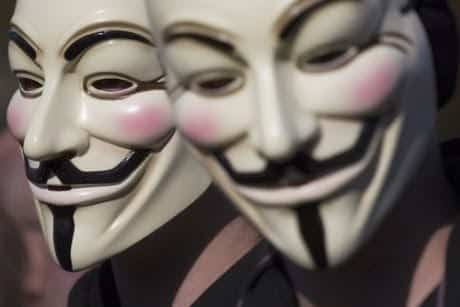 Anonymous brings down Pakistani Government websites to support unarmed peaceful protestors in Pakistan
