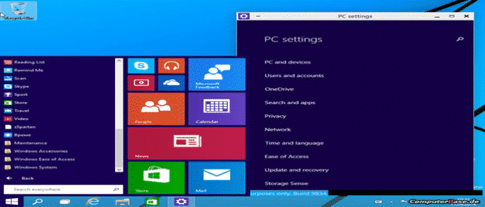 Leaked video shows Windows 9 Start menu in action [Features in Details]
