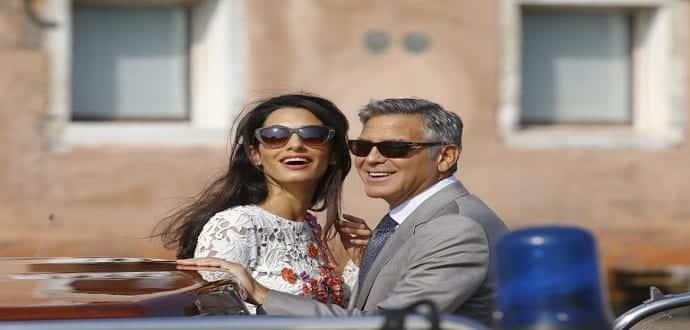 George Clooney and his bride give burner phones to guests at their wedding