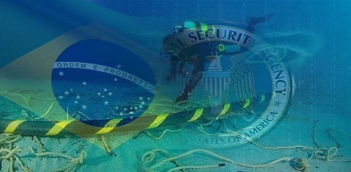 Snowden leaks and NSA spying causes Brazil to avoid US materials as well as territory for its under sea cable