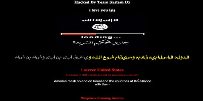 Rugby League team Keighley Cougars website hacked & defaced in support of ISIS