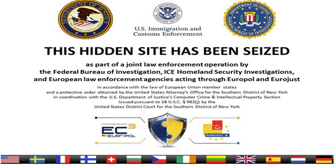 Silk Road 2.0 not the only one, more than 400 DarkMarket websites seized too in Global Raids