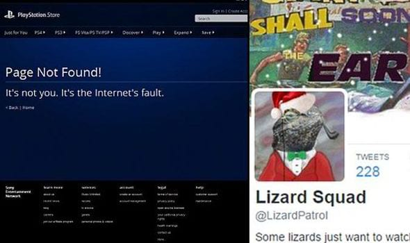 As promised, Lizard Squad downs PlayStation Network today