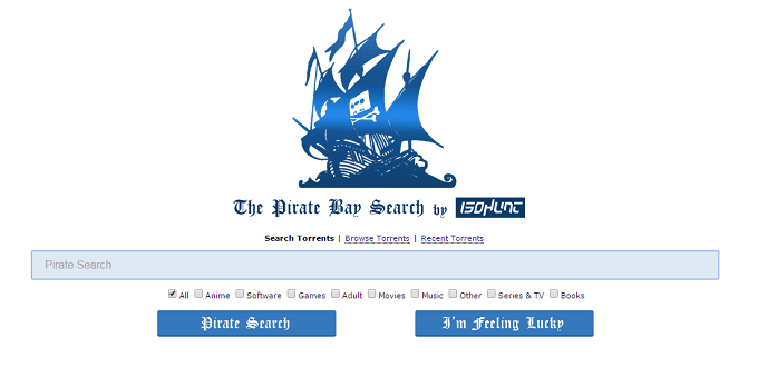 ISOHunt resurrects The Pirate Bay in its old Avatar