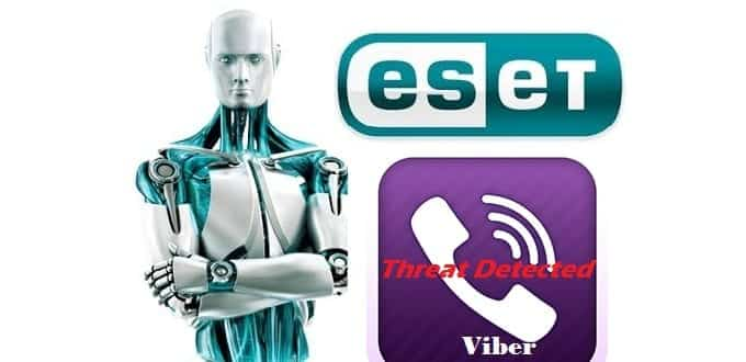 Viber vs ESET, ESET's NOD32 flags Viber for 'potential threat' and shows why