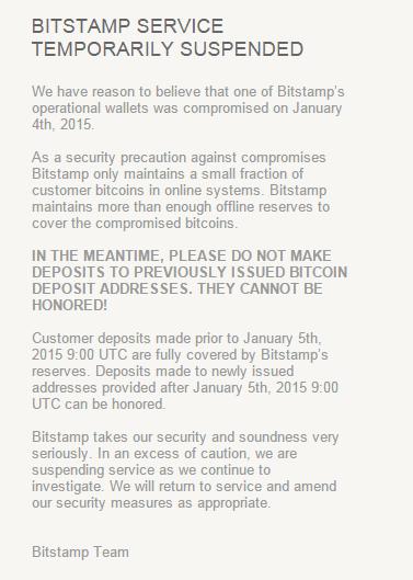 Bitcoin Exchange Bitstamp hacked; Site Taken Offline