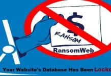 """""""RansomWeb"""" the new attack vector which encrypts website databases"""