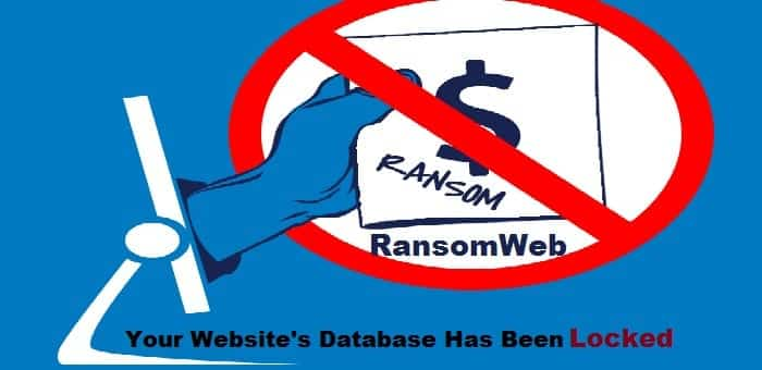 """RansomWeb"" the new attack vector which encrypts website databases"