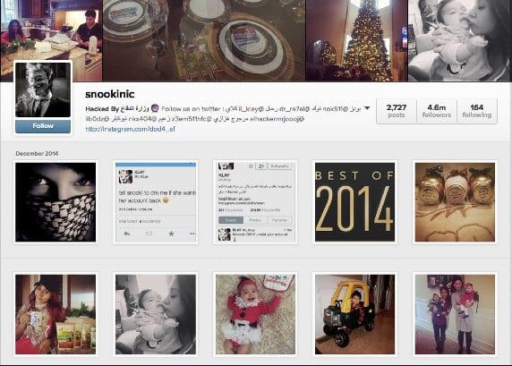 'Snooki's' Instagram Account by Arabic Speaking Hackers
