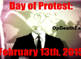 OpDeathEaters : Anonymous calls for Global protest on 15th February