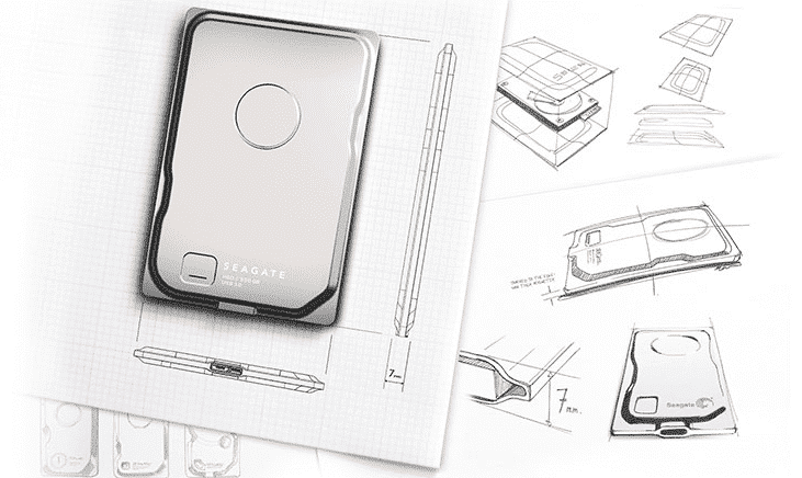 Seagate Seven the World's Slimmest Portable Hard Drive