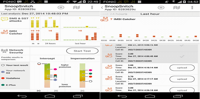 SnoopSnitch app uses radio signals to find nearby tracking devices