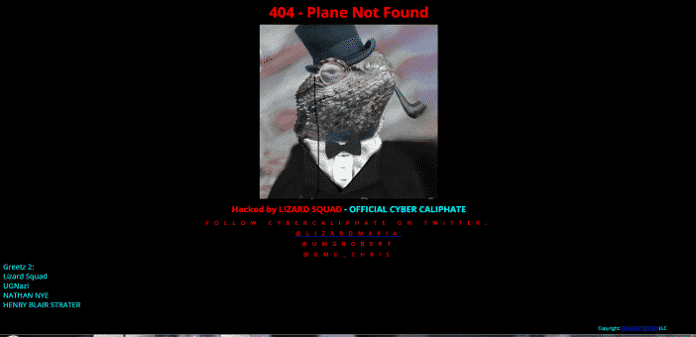 Lizard Squad and Islamic State Hackers 'Cyber Caliphate' hack Malaysian Airlines website