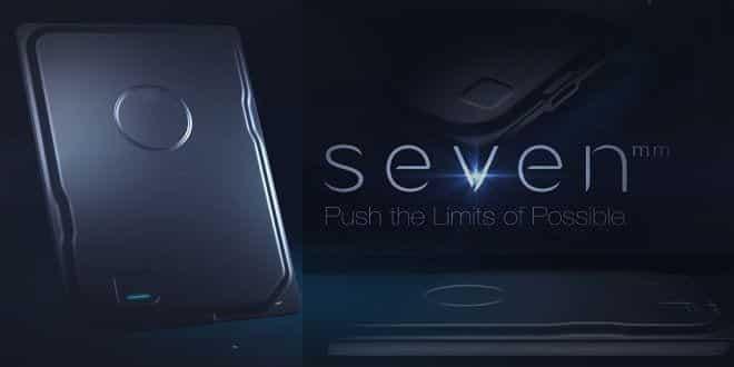 Seagate Seven the World's Slimmest Portable Hard Drive