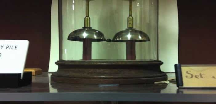 A Battery boosting a bell for last 175 years - yet know one knows how