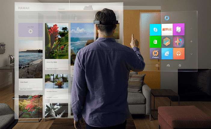 Microsoft HoloLens brings 3D world into reality