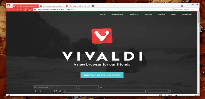Vivaldi, a New Browser Launched by Former Opera CEO