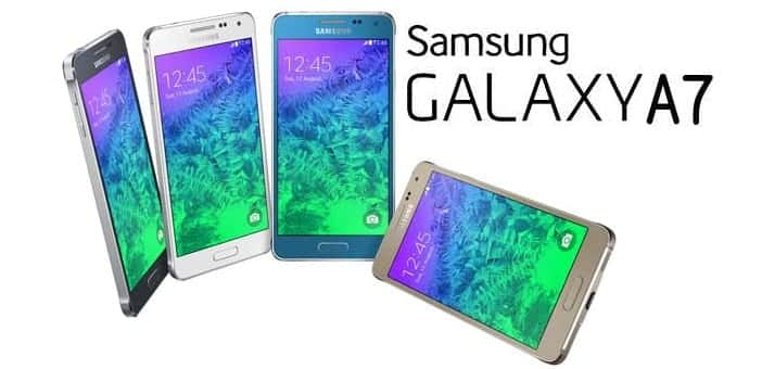 "Samsung launches A series ""Galaxy A7"" full-metal phablet in India for Rs.30,500.00"