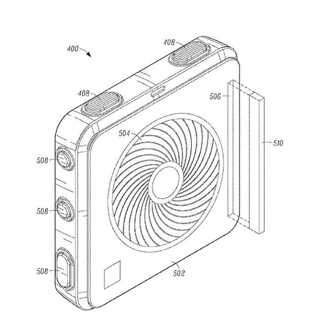 Google Patents its odour detection and fragrance emitting wearable device