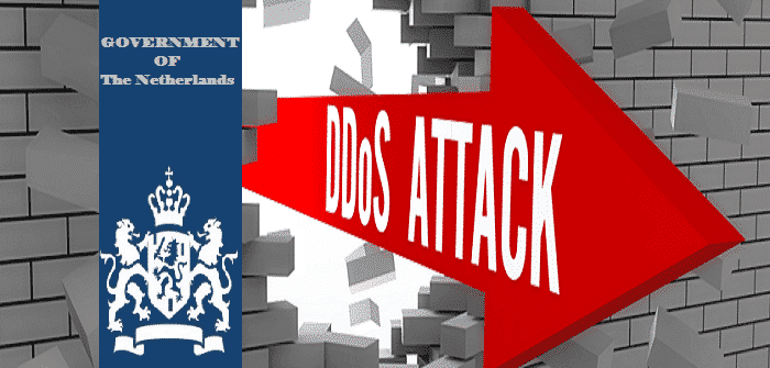 DDoS attacks brings down most Dutch government websites