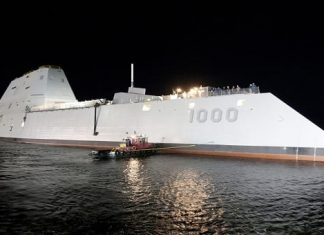 Linux used to build US Navy's most powerful destroyer yet