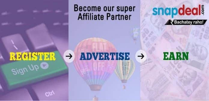 Snapdeal Affiliate program, Unlock Your sites potential & Earn more with Snapdeal Affiliate