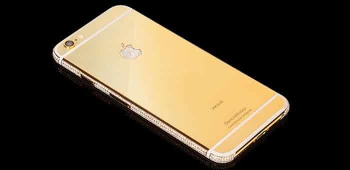 """World costliest iPhone 6 at $3.5 million; Goldgenie's masterpiece """"Diamond Ecstasy"""""""