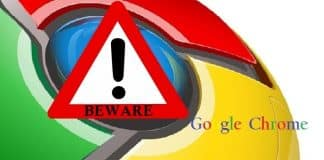 Google Chrome update Spam leads to CTB Locker/Critroni Ransomware