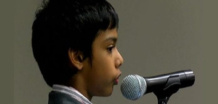 9 Year Old CEO warns of dangers of phone hacking, demonstrates how its done